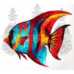 Coral Reef Fish Butterfly Red
